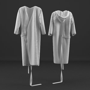 3d model robe realistic
