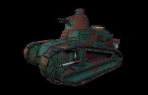 3d ft17 tank model