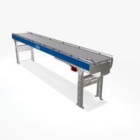 3d model roller zero pressure ac