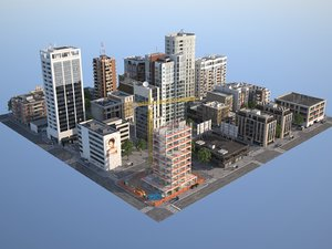 city 3d lwo
