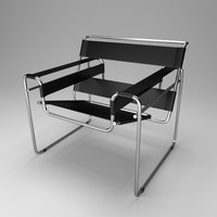3ds wassily chair