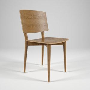 3d model skandiform oak s-050