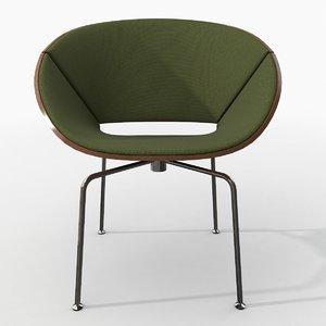 photorealistic lipse chair obj