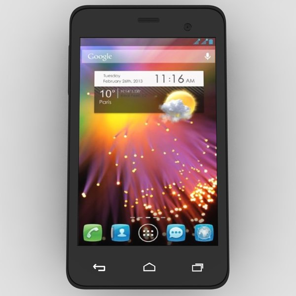 alcatel touch star dual 3d model