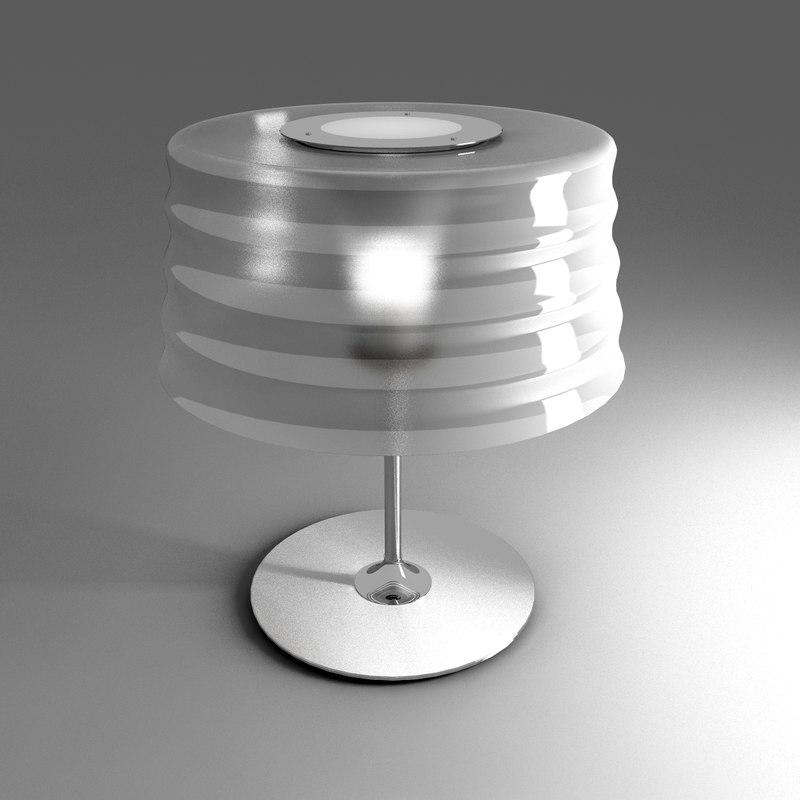 3d model of penta chi lamp