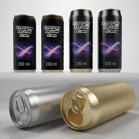 Energy drink can 250 ml 330 ml