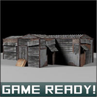 slums building 4 x