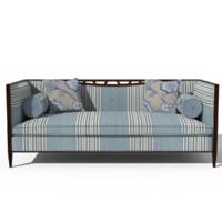 3d model classic sofa