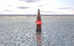 coca cola 3d c4d