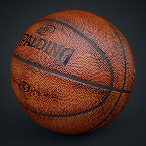 3d spalding official used ball ball