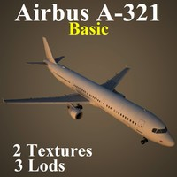 3d airbus basic model