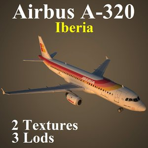 3d model airbus ibe