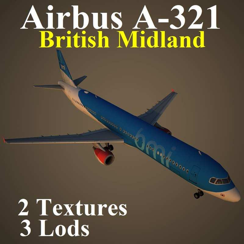 airbus bma 3d max