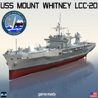 USS Mount Whitney LCC-20 command ship