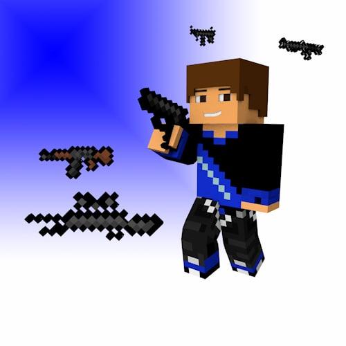 weapons guns 3d model