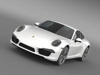 porsche 911 carerra s 3d model
