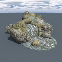 3d rock games ready model