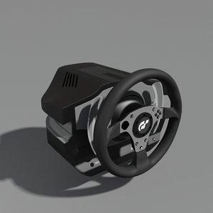 thrustmaster g500 racing wheel 3d