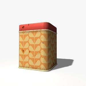c4d rusty tin