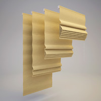 3d model of roman blind