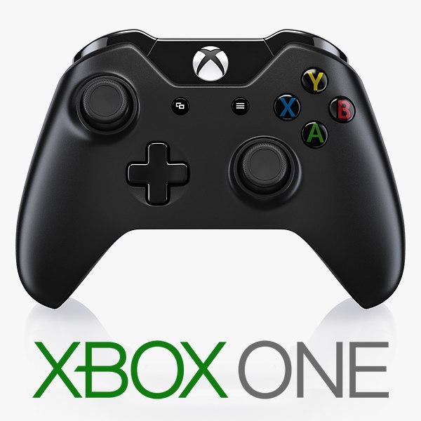 3d xbox controller