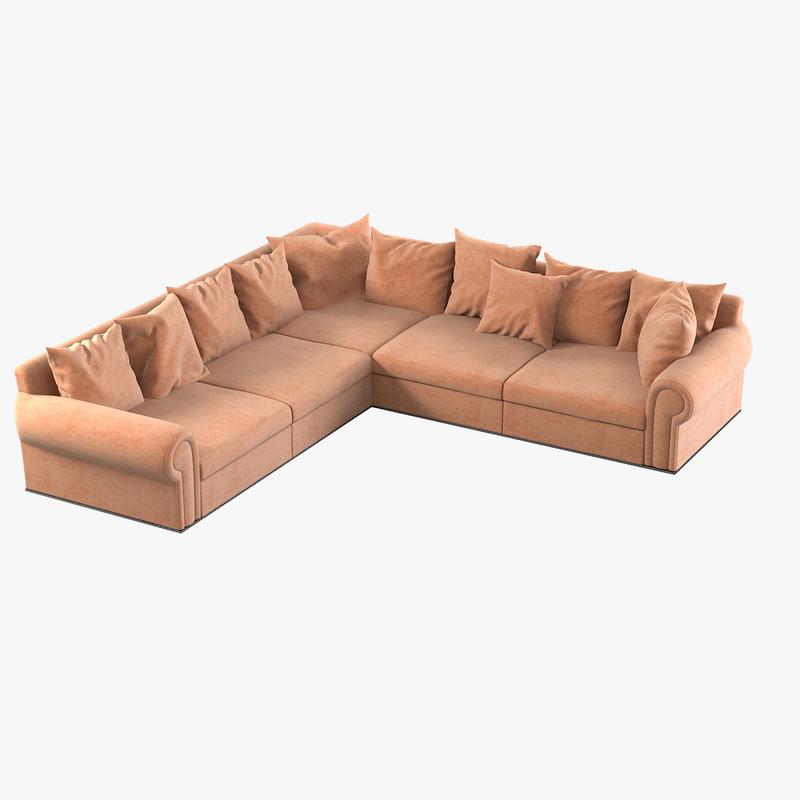 max fendi corner sofa