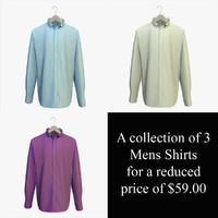 shirts hanger 3d 3ds