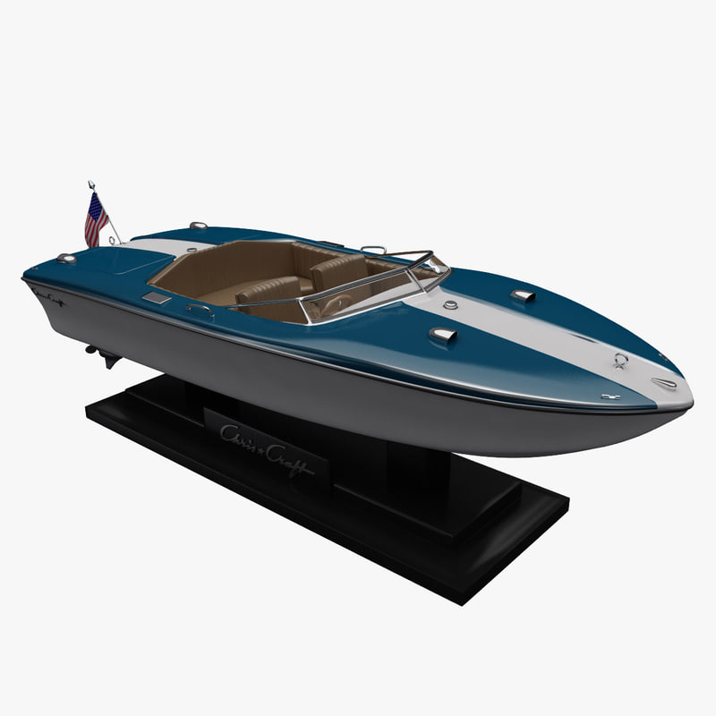 chris craft xk19 3d max