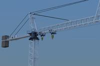 3ds max rise crane
