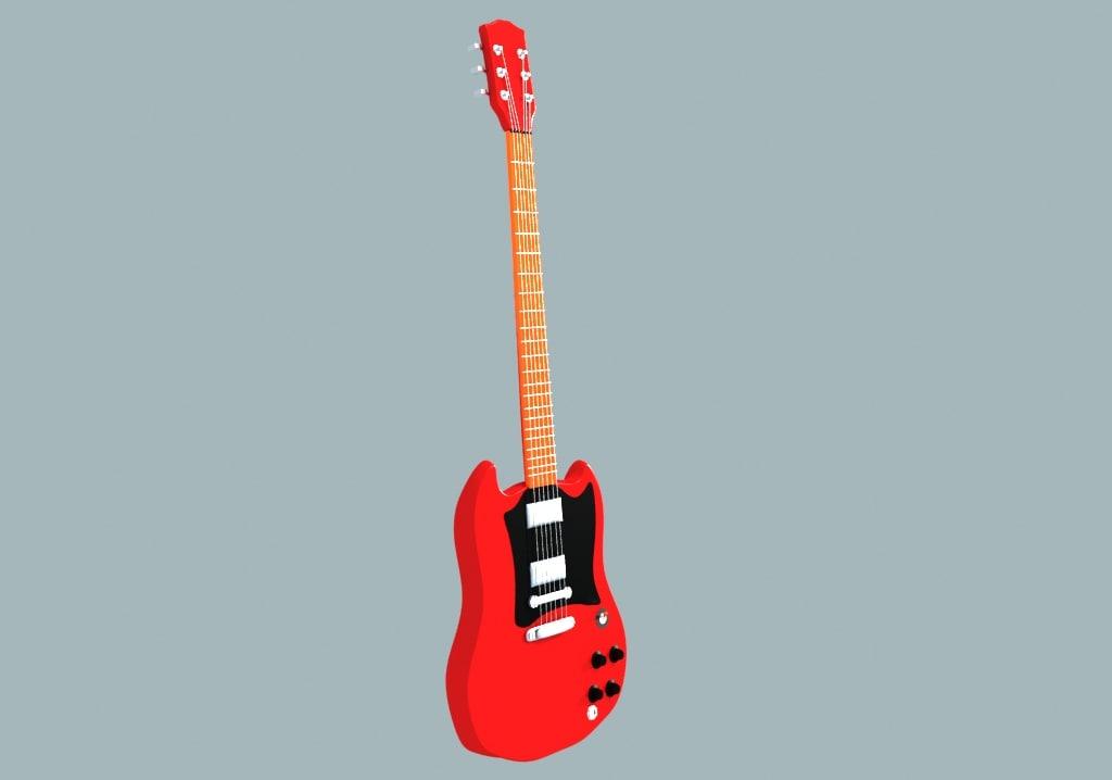 free max model guitar
