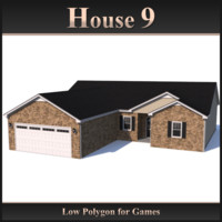 Low Polygon House 9