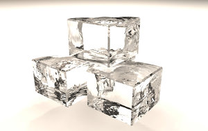 ice cube 3d model