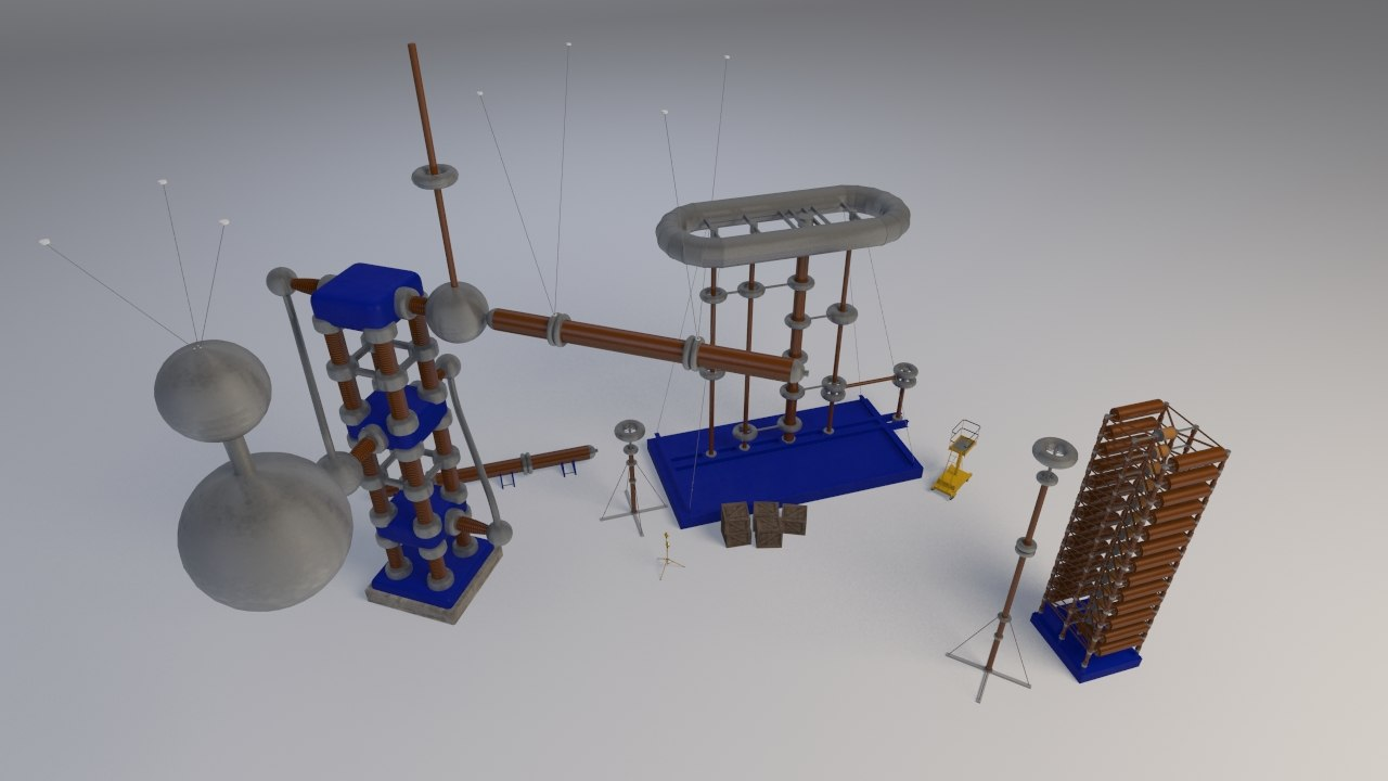3ds voltage equipment