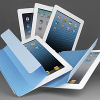 3d apple new ipad retina model