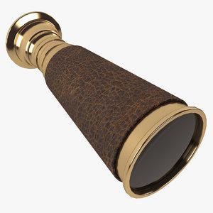 pocket binocular 3d max