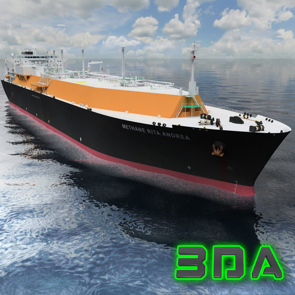 lng tanker ship gas max