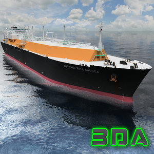 lng tanker ship gas max