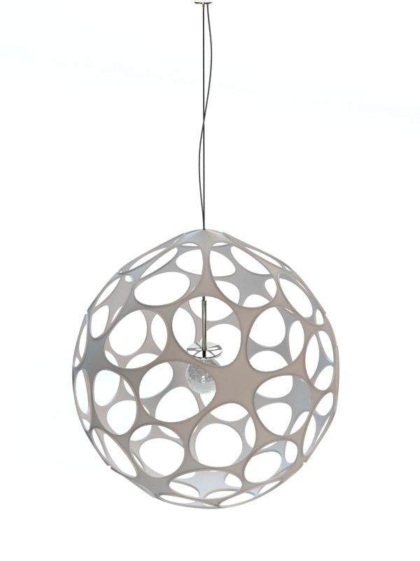 3d aristocratic lamp