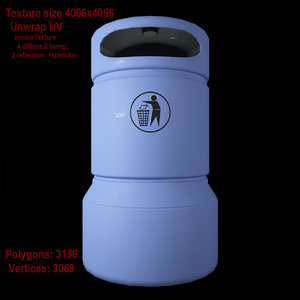 3dsmax dustbin 02