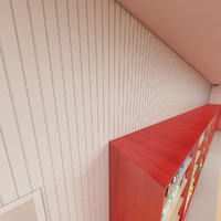 3d pvc panel wall 10cm