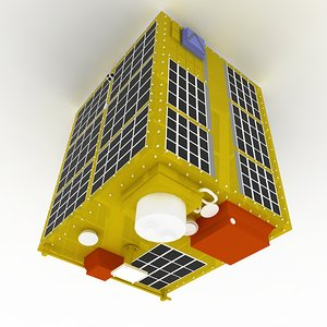 3d model nasa s minisatellite mission