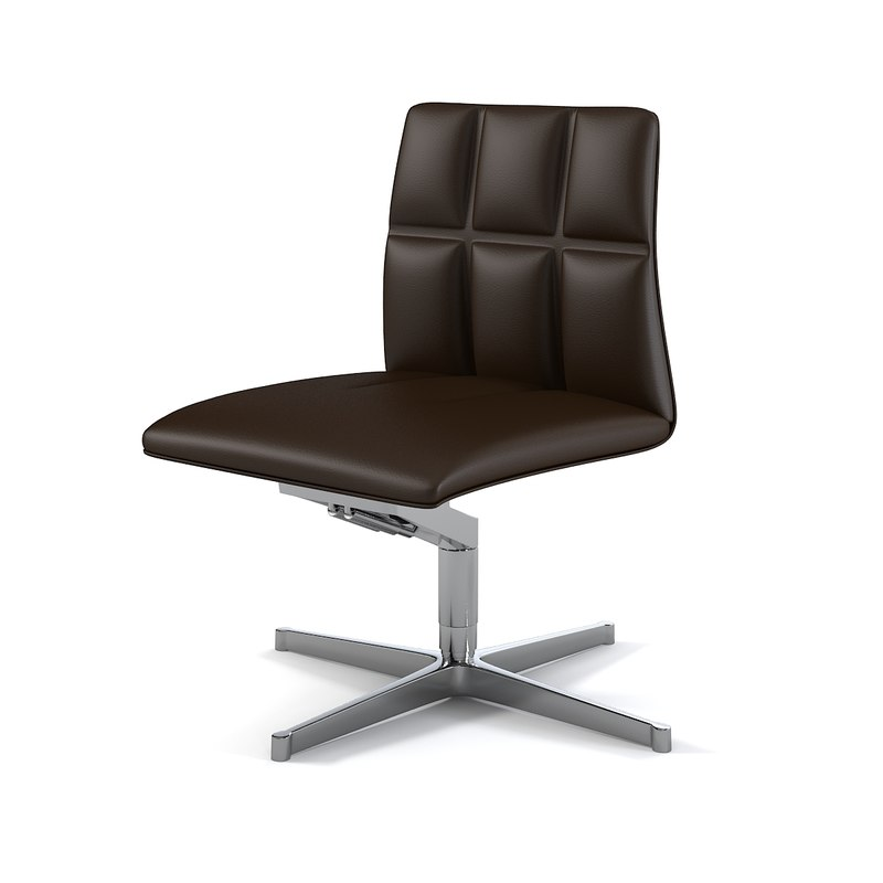 walter knoll leather leadchair 3d max
