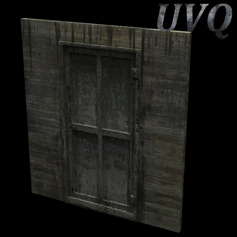 max metal door wall
