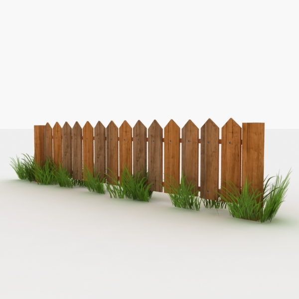 max wooden fence polys