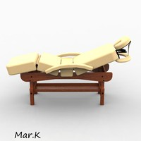 3d massage bed archer3 model