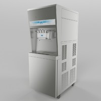 ice cream maker 3d model