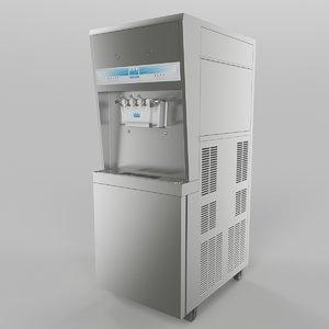 ice cream maker 3d model