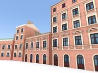 3d tenement house 1
