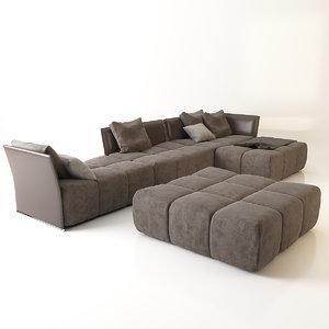 maya sergio pixel sofa