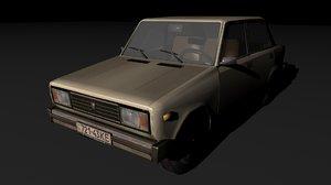 3d car vaz 2105